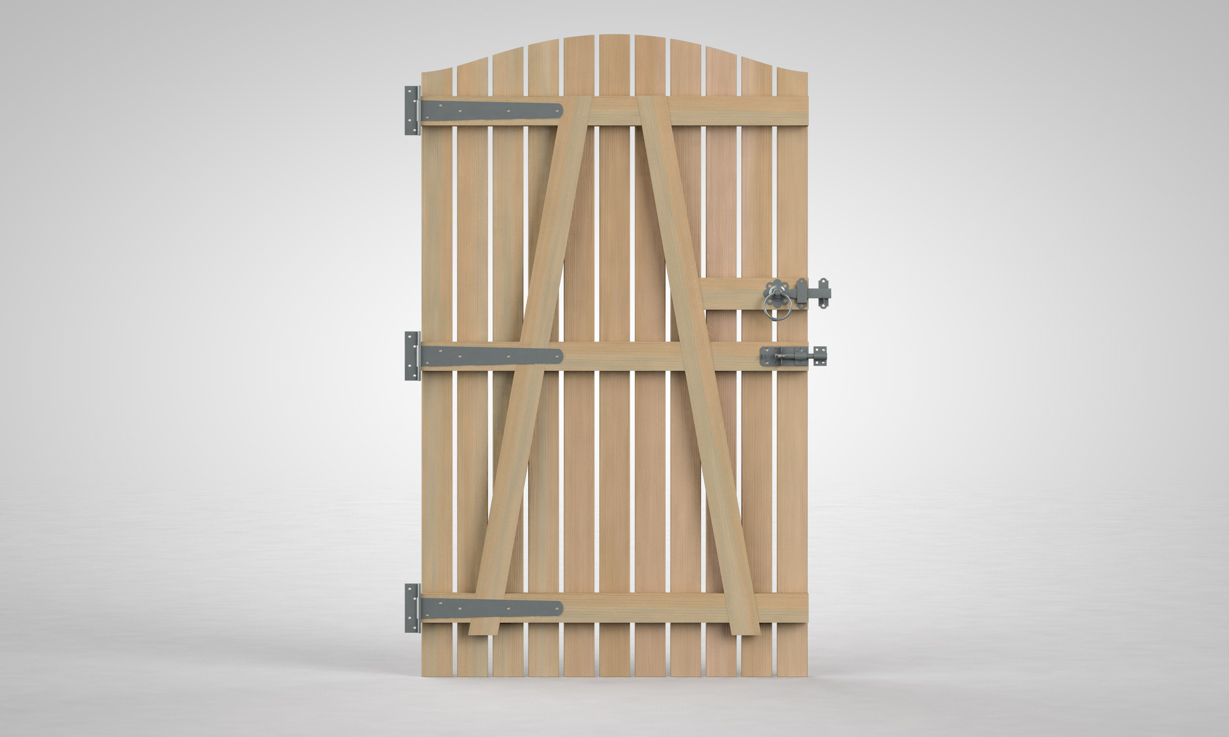 Buy Wooden Side Gates Online Create A Gate